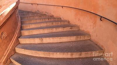 Photograph - San Luca Porch Stairway by Benny Marty