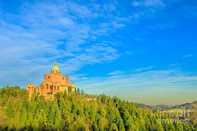 Photograph - San Luca Sanctuary Landscape by Benny Marty