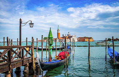 Photograph - San Marco Basin Venice by Carolyn Derstine