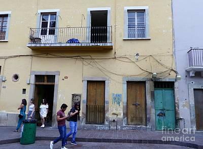 Photograph - San Miguel Street Scene by Rosanne Licciardi