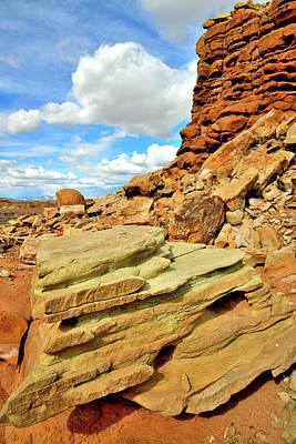 Photograph - San Rafael Desert In Utah by Ray Mathis