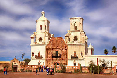 Photograph - San Xavier Del Bac Az by Chris Smith