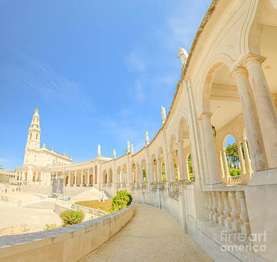 Photograph - Sanctuary Fatima Portugal by Benny Marty
