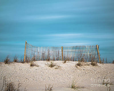 Photograph - Sand Fence by Patrick M Lynch