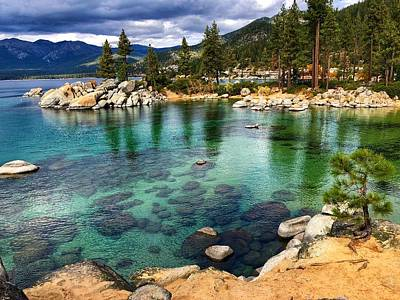 Photograph - Sand Harbor by Steph Gabler