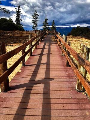 Photograph - Sand Harbor Trail by Steph Gabler