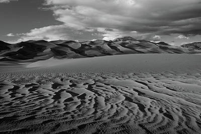 Photograph - Sand Ripples by TM Schultze