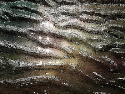 Digital Art - Sand Sparkles by Cindy Greenstein