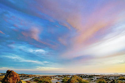 Photograph - Sand, Surf, And Sky In Coronado by Gloria Moeller