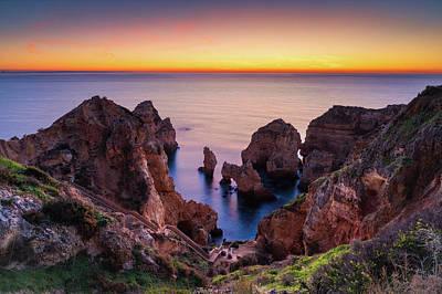 Photograph - Sandstone Coast by Michael Blanchette