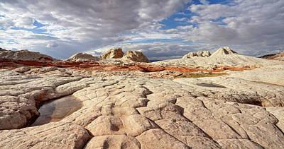 Photograph - Sandstone Landscape by Leda Robertson