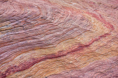 Photograph - Sandstone Rainbow by Loree Johnson