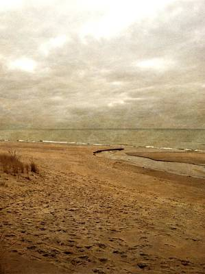 Photograph - Sandy Beach At Pier Cove by Michelle Calkins