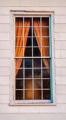 Photograph - Sandy Hook Chapel Window by Gary Slawsky