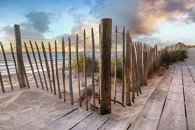 Photograph - Sandy Path On The Dunes by Debra and Dave Vanderlaan