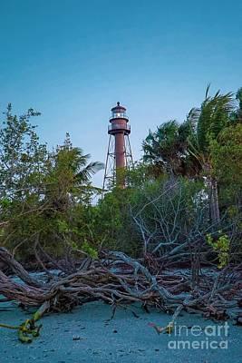 Photograph - Sanibel Island Lighthouse by Susan Rydberg