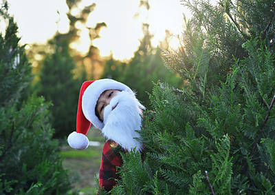 Photograph - Santa Claus Is Coming To Town by Andrea Anderegg