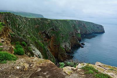 Photograph - Santa Cruz Island Bluffs by Kyle Hanson