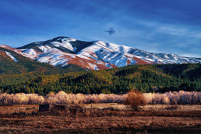 Photograph - Santa Fe Baldy Mountain by Robert FERD Frank