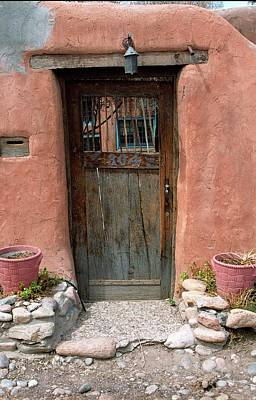 Photograph - Santa Fe Door by Susie Rieple