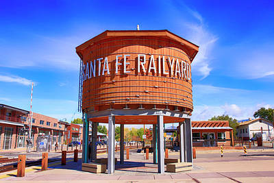 Photograph - Santa Fe Railyard District by Chris Smith