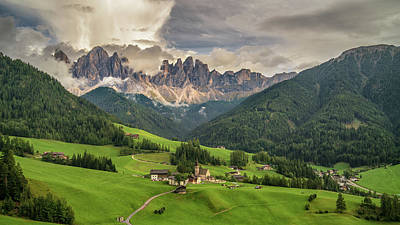 Photograph - Santa Maddalena by James Billings