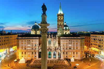 Photograph - Santa Maria Maggiore by Fabrizio Troiani