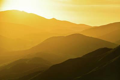 Photograph - Santa Monica Mountains Satwiwa Sunset by Kyle Hanson