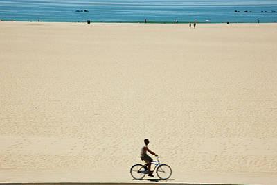 Photograph - Santa Monica, The Beach by Maremagnum
