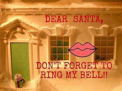 World War 2 Action Photography - Santa RIng My Bell by Jacqueline Manos