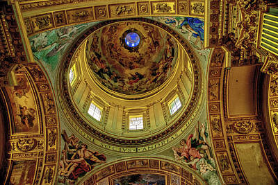 Photograph - Sant'andrea Della Valle by Joseph Yarbrough