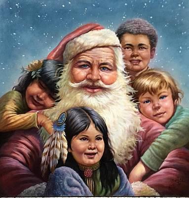 Santa'schildren Original