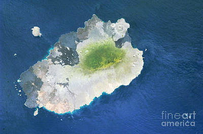 Photograph - Santiago Island, Galapagos by Nasa