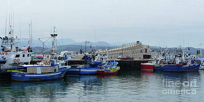 Photograph - Santona Harbour And Museum by Phil Banks
