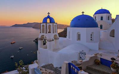 Photograph - Santorini by Nedjat Nuhi