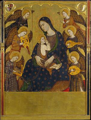 Stocktrek Images - Saragossa  Llorenc Gan  1375  1400 by National Art Museum of Catalonia