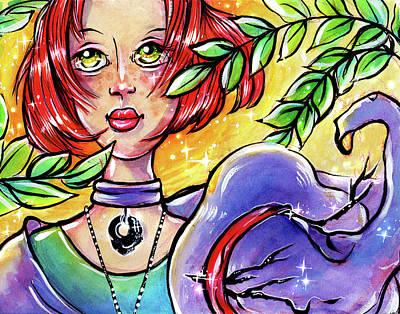 Mixed Media - Sarahfina Sun by Nada Meeks