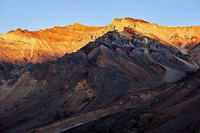 Abstract Male Faces - Sarchu Sunrise by Whitney Goodey