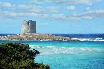 Royalty-Free and Rights-Managed Images - Sardinia Torre della Pelosa by Joachim G Pinkawa