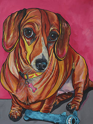 Painting - Sasha by Patti Schermerhorn