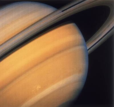 Photograph - Saturns Rings by Space Frontiers