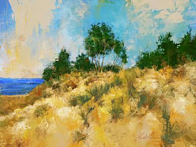 Digital Art - Saugatuck Beach by Garth Glazier