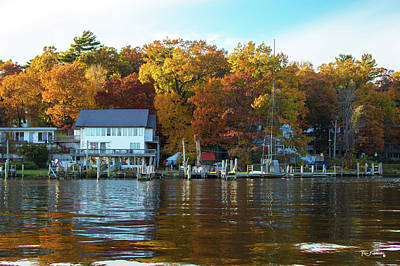 Photograph - Saugatuck Michigan Autumn by Ken Figurski