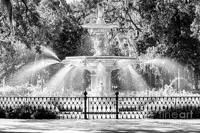 Savannah Forsyth Park Fountain Art Print