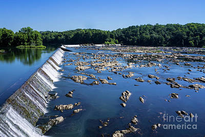 Photograph - Savannah River Rapids - Augusta Ga 2 by Sanjeev Singhal