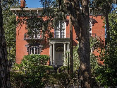 Photograph - Savannah Villa by Framing Places