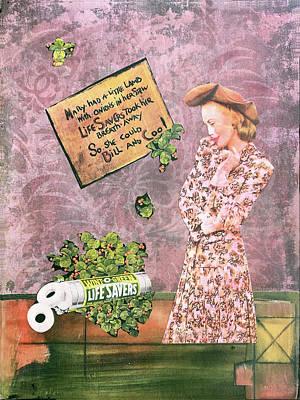Mixed Media - Saving Mary by Judy Tolley