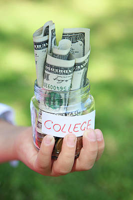 Savings For College Art Print by Weekend Images Inc.