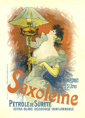 Painting - Saxoleine Vintage French Advertising by Vintage French Advertising