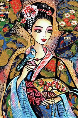 Painting - Sayuri by Eva Campbell